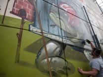 Graffiti-Projekt Bayernkaserne