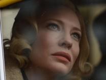 """Filmfestspiele von Cannes: Cate Blanchett in dem Wettbewerbsbeitrag """"Carol""""."""
