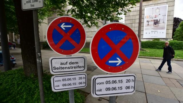 G-7-Gipfel G-7-Protest in München