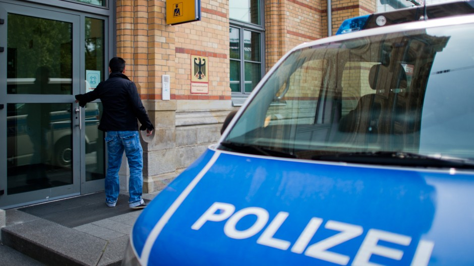 Wache Bundespolizei-Inspektion Hannover