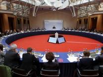 Beginn 6. Petersberger Klimadialog
