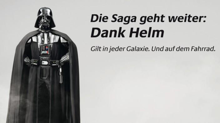 """Plakataktion: ´Darth Vader - der Helm sei mit Dir!"""""""