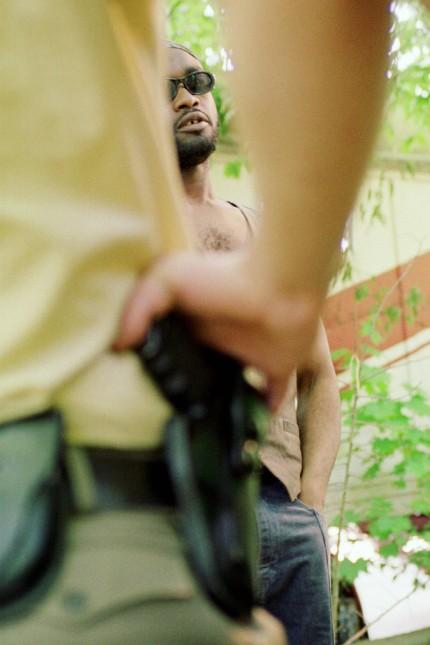 Berlin Racial Profiling Kontrollen von Afrikanern Polizeikontrolle eines Mannes aus Ghana in der Has