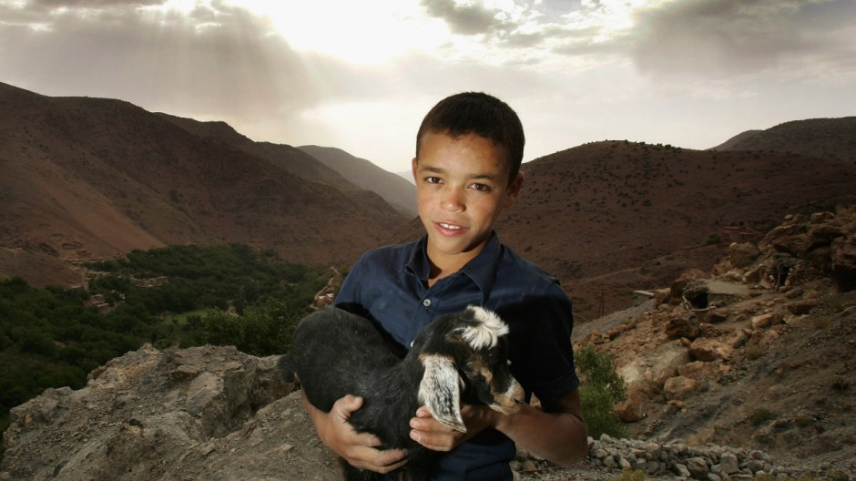 Berber Life in the High Atlas Mountains of Morocco