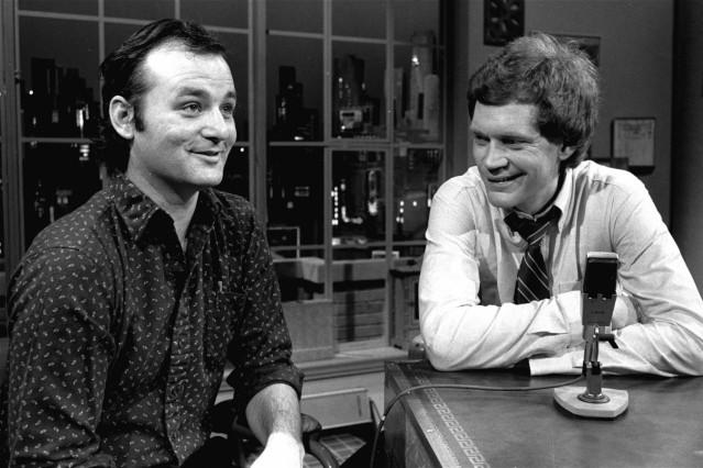 David Letterman, Bill Murray