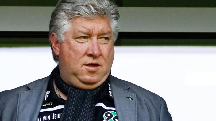 Dieter Schatzschneider Hannover 96 1 Fussball Bundesliga Punktspiel Saison 2014 2015 VfL Wolfsb; Dieter Schatzschneider