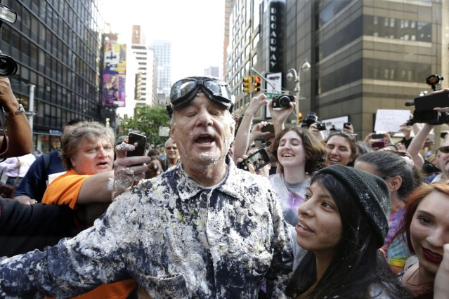 US actor Bill Murray Last Guest at Letterman Show