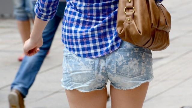 Sommertrend ultrakurze Hosen