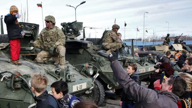 Krieg in der Ukraine Litauen