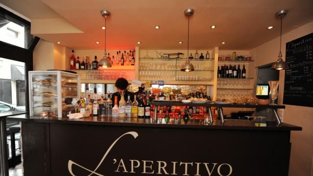 """Bar """"L'Aperitivo"""" in München, 2014"""
