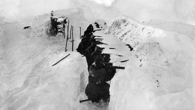 Österreichisch-Ungarische Soldaten in den Alpen, 1916