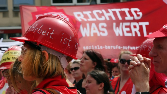 Kita-Streik - Demo in Köln