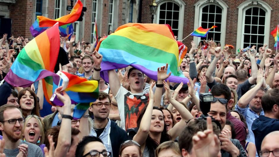 Homo-Ehe in Irland Nach Referendum über Homo-Ehe in Irland