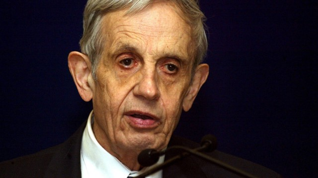 John Nash dead in car accident