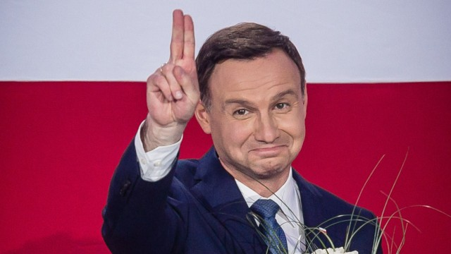Wahl in Polen Erste Prognosen
