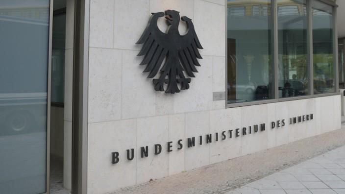 Das Bundesinnenministerium in Berlin.