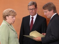 German Weekly Government Cabinet Meeting