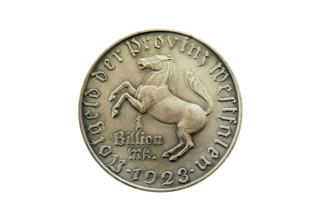 Provinz Westfalen, 1000000000 Mark 1923