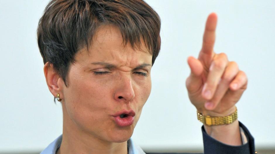 Pressekonferenz Frauke Petry