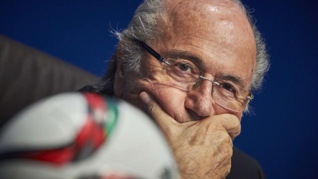 Fußball Sprüche von Sepp Blatter