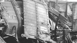 Zugunglück zwischen Aßling und Oberelkofen am 16. Juli 1945.