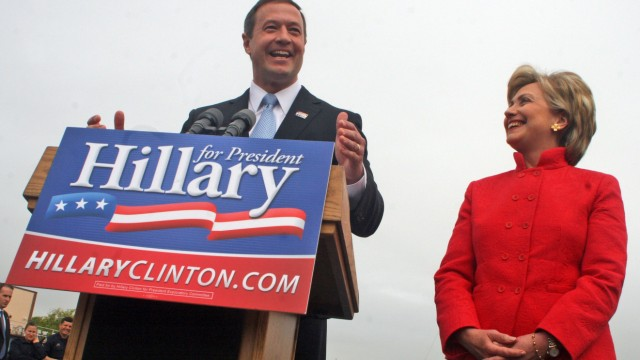 Hillary Rodham Clinton, Martin O'Malley