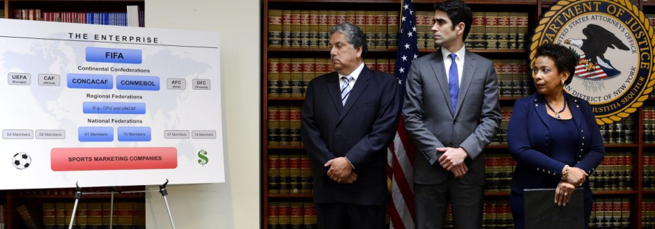 US-Justizministerin Loretta Lynch gegen die Fifa