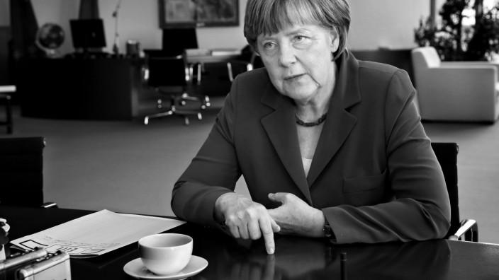 Angela Merkel im SZ-Interview