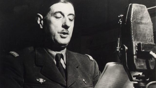 Berühmte Ansprache von Charles de Gaulle vor 70 Jahren