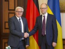 Außenminister Steinmeier in Ukraine