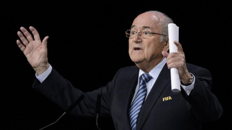 Fifa Bewerbungsrede von Sepp Blatter