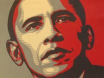 artnet versteigert politische Street-Art von Shepard Fairey