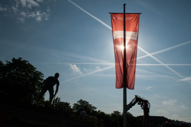 Kirchentag - Flagge
