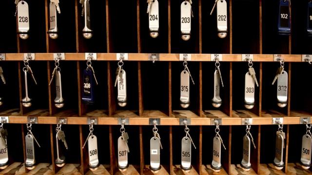 Hotelzimmerschlüssel