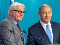 Außenminister Steinmeier in Israel