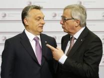 EU-Haushalt Kommission Rechtsstaatlichkeit