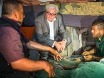 Außenminister Steinmeier besucht Gaza