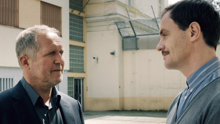 "Tatort ""Gier""; Harald Krassnitzer und Anian Zollner"