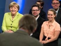 Bürgerdialog mit Bundeskanzlerin Angela Merkel