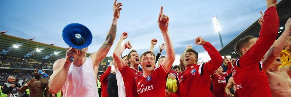 Karlsruher SC v Hamburger SV - Bundesliga Playoff Second Leg