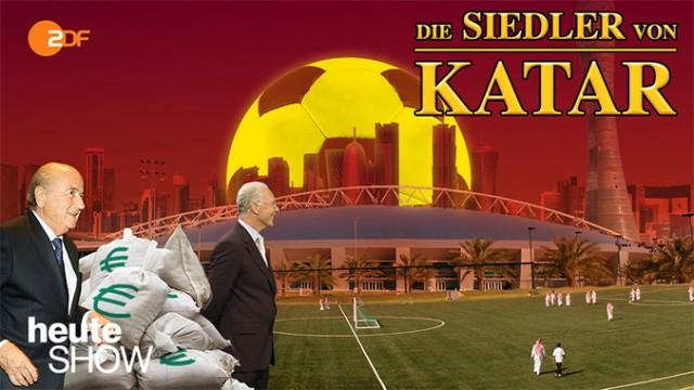 Heute Show Siedler von Katar