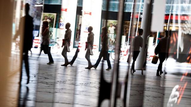Shopping Mall Hofstatt, Einkaufspassage