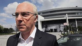 Olli Dittrich als Franz Beckenbauer