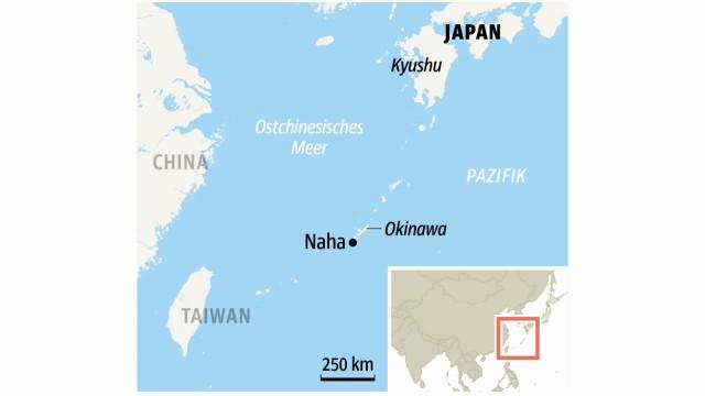 Japan Archipel Okinawa in Japan
