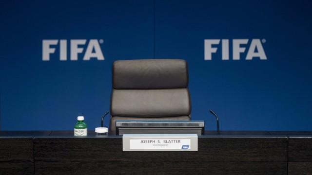 Fifa Rücktritt als Fifa-Präsident