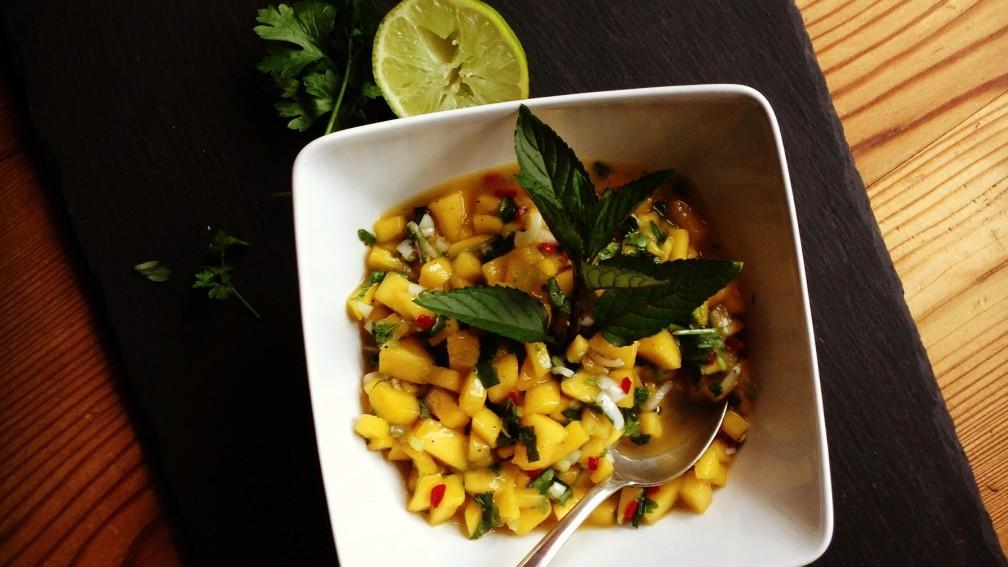 Mango-Salsa mit Neidgarantie
