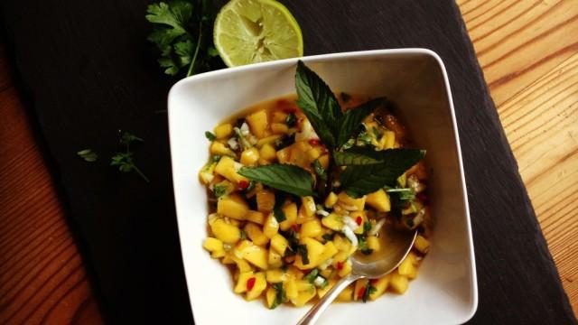 "Foodblog ""Lecker auf Rezept"" - Mangosalsa"