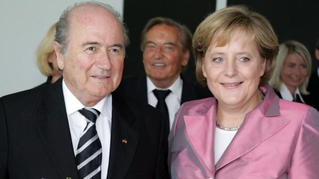 Blatter erhält Bundesverdienstkreuz