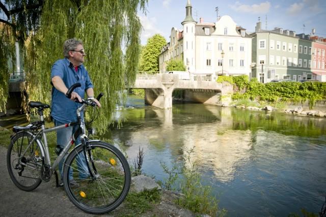 Bruck: Thomas Brueckner zeigt die Fahrrad-Hotspots