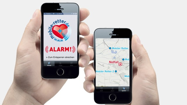 """Erste Hilfe App """"Mobile Retter"""""""